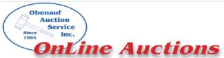 Obenauf Auctions Logo